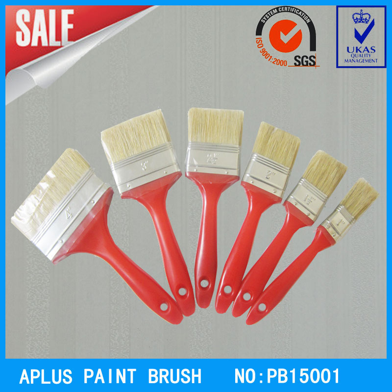 pure white bristle paint roller brush