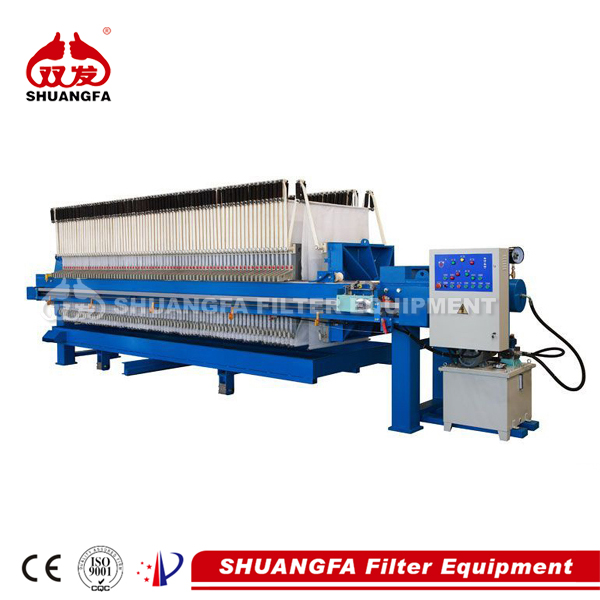 Automatic shaking filter press for wastewater treatment, better dewatering effect
