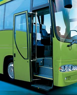 Pneumatic Swing out Bus Door System for Tour Coach, Commercial Buses