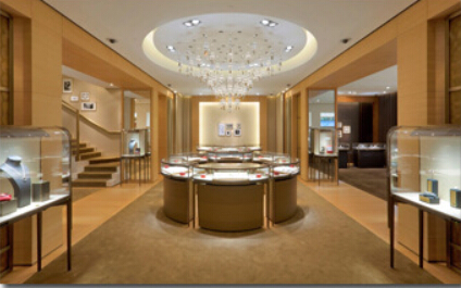 Luxury Exhibition Display For Jewerlly Perfume Bag Garment Watch Cabinet