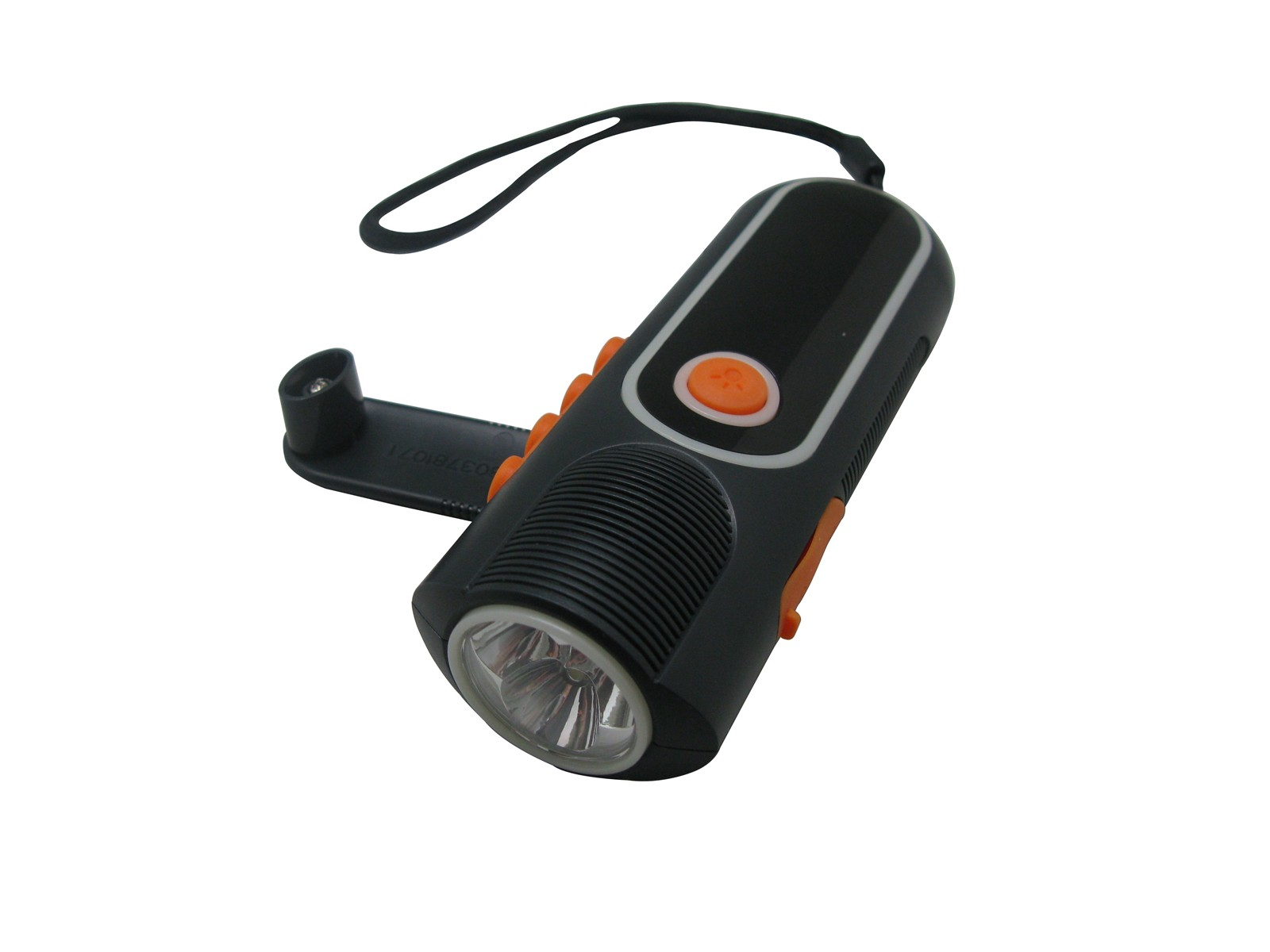 cree led flashlight with radio and can charge different mobile phone