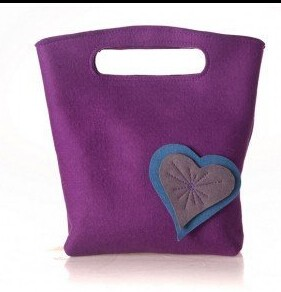 2014 Trendy lady Women Make Up Bags Eco Felt Model For Ipad And Laptop Devices