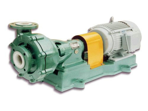 Chemical Resistant Single Suction Centrifugal Slurry Pump For Wastewater UHB-ZK Series