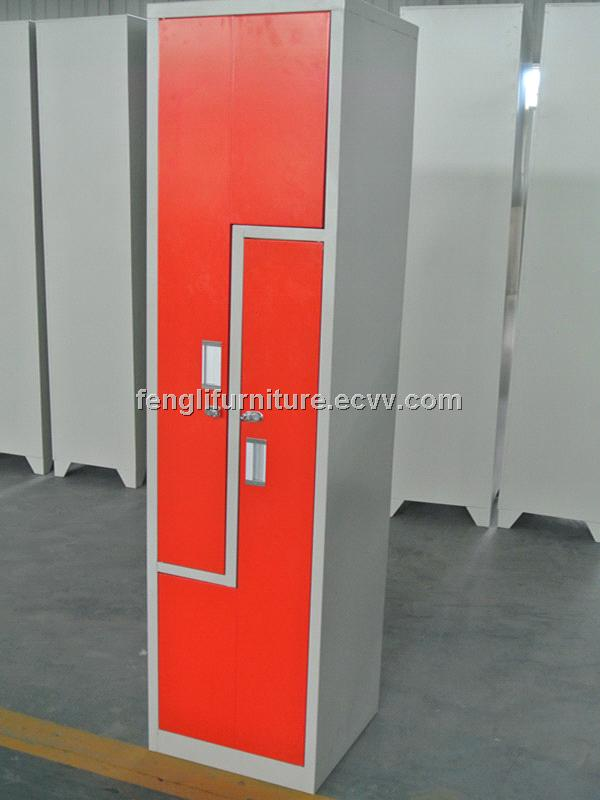 Z door metal clothes locker