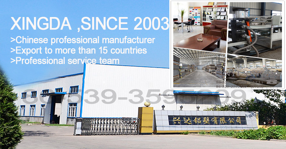 Linyi Xingda Aluminum & Plastic Decoration Material Co., Ltd.