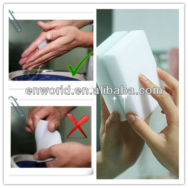 kitchen household items melamine foam cleaning sponge