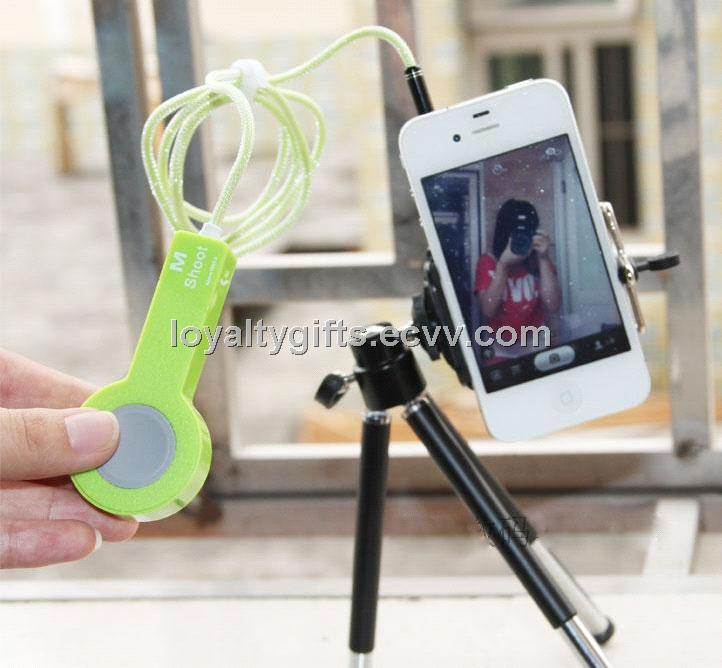 2014 Wired Remote Camera Shutter for iPhone and iPod Self Timer
