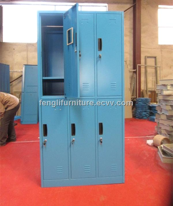 Six door steel locker for sale