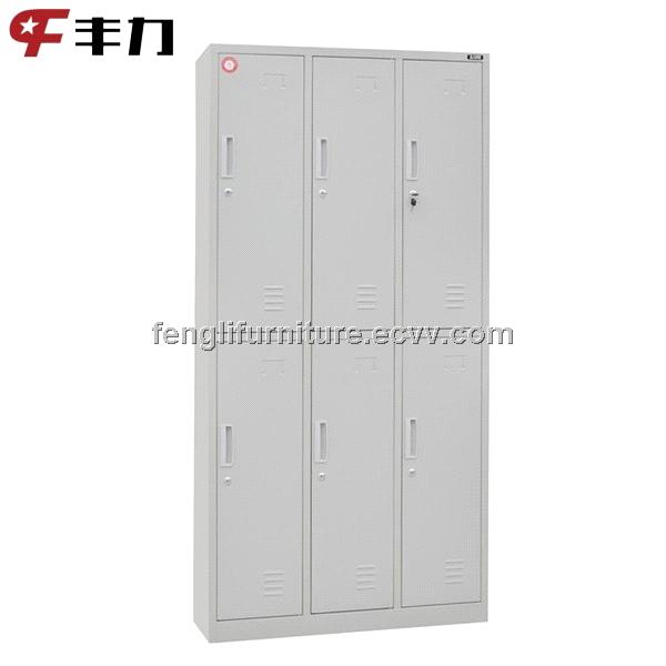 6 Doors Steel Locker Storage Cabinets