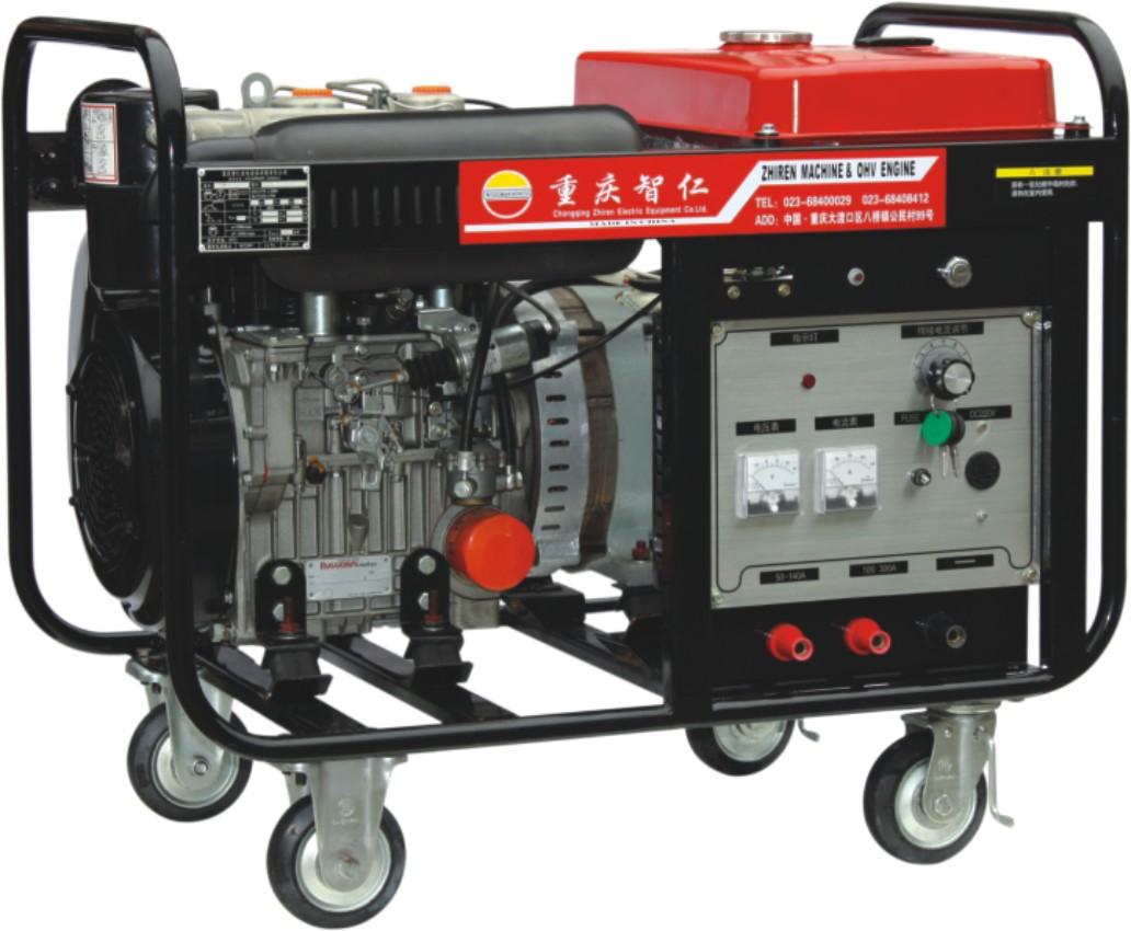 300A Kohler Engine Powered Electric Start Medium-frequency Diesel DC ...