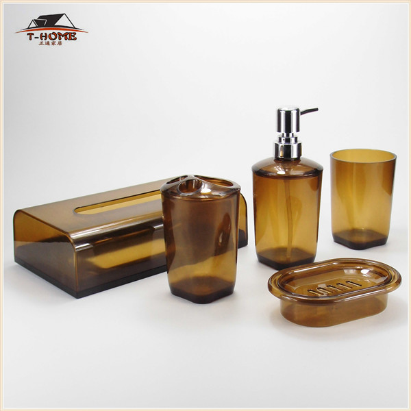 NEW 5 pcs Luxury Bathroom Accessory Set Bath purchasing, souring ...