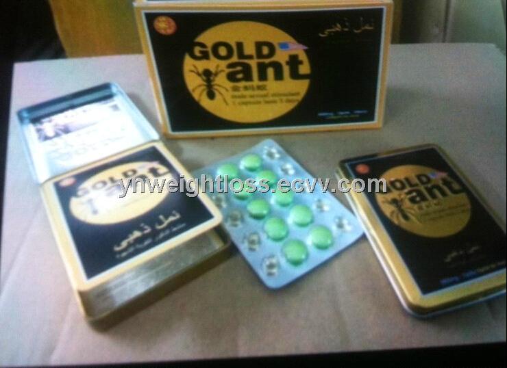 New Version Gold Ant Male Herb Enhancer Sex Medicine Health ...