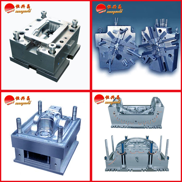Plastic injection mold maker making the mold