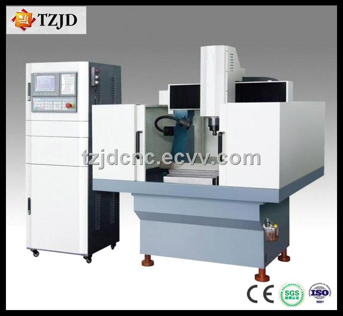 CNC Mould Engraver CE Approved TZJD-6060MA