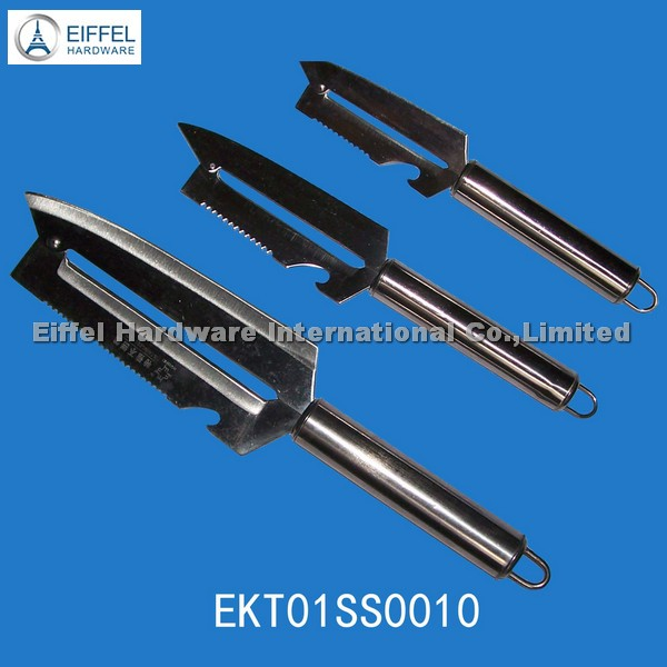 Stainless steel multifunction peeler with different sizes(EKS01SS0010)