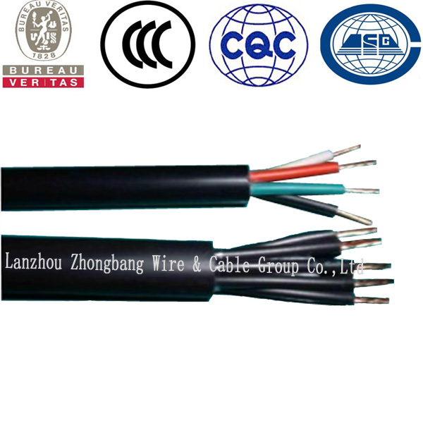 PE Jacket XLPE Insulation Flexible Control Cable