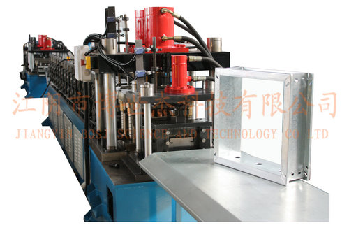 Volume Control Damper Shell Molding Machine, Fire Damper Roll Forming in  Saudi Arabia