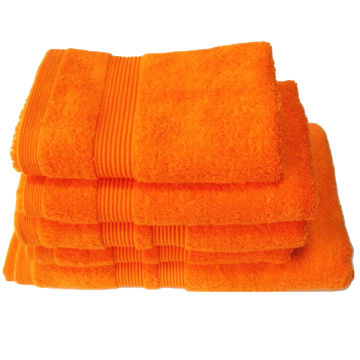 Bath towel, dobby end, 100% cotton material