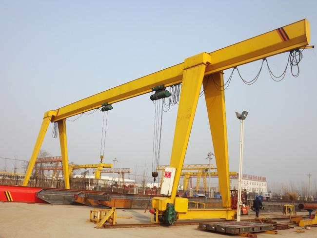 Dependable performance gantry crane 20 ton
