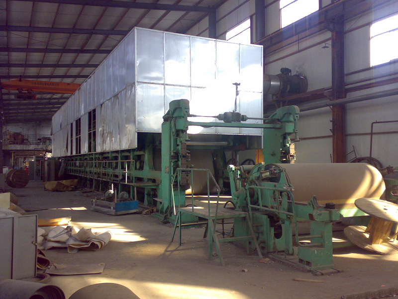 ISO&BV Certificate 1200-6600mm Kraft Paper Producing Machine