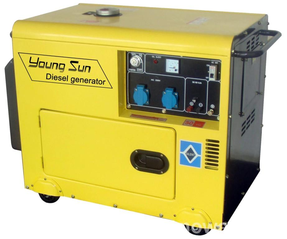 10kw Silent Type Diesel Generating set with ATS CE Approval