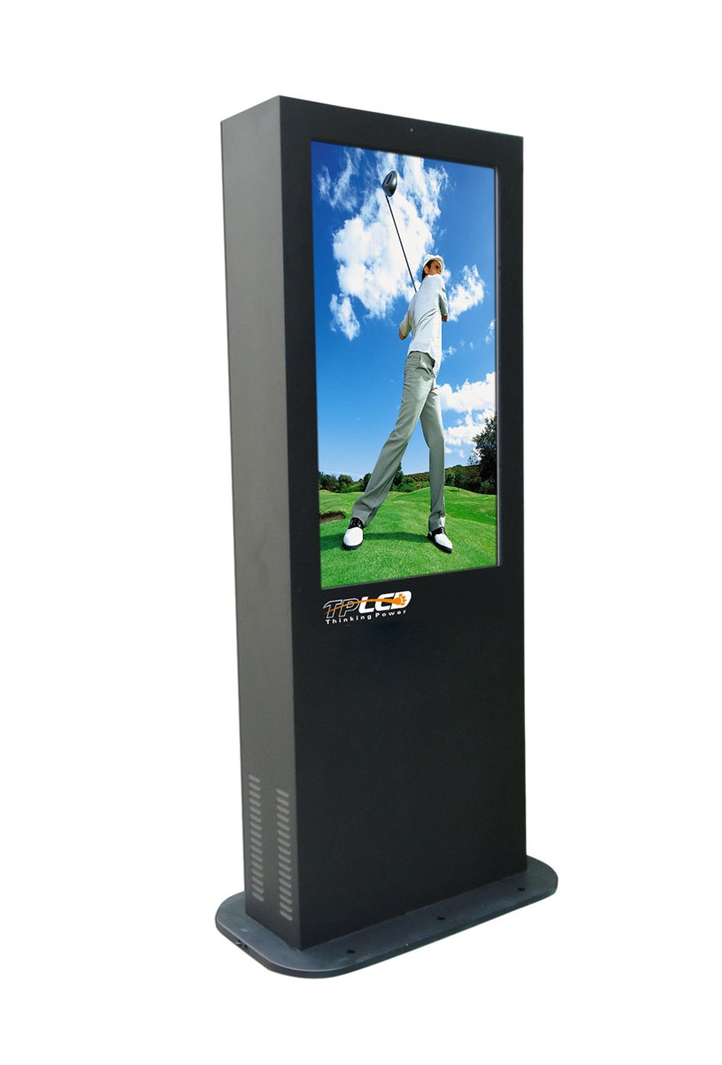 42 inch outdoor floor stand lcd digital signage player Low price
