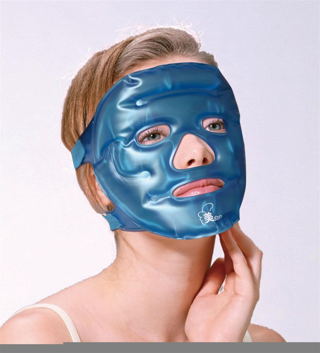 Gel hot cold facial mask