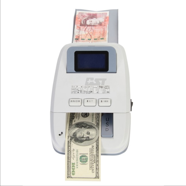 LBP and CAD Mixed Denomination IR Counterfeit Money Detector