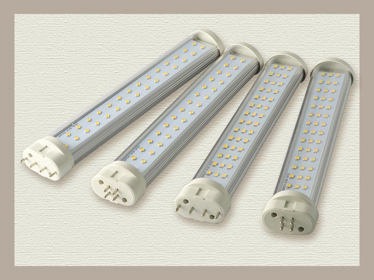 12W dimmable LED 2G11 tube