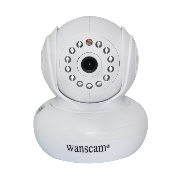 Motion Detection Sound Alarm Wanscam JW0005 Baby Monitor IP Camera
