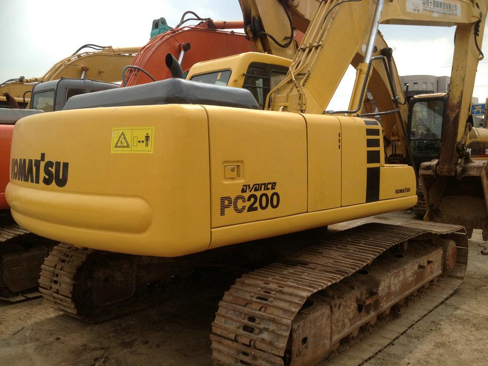 used Komatsu PC200-6E excavator, used pc200-6 excavator