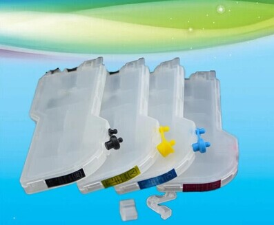big capacity   for Refillable  Ink Cartridge LC11/16/36/38/39/60/61/65/67/110/980/975/985/990/1100