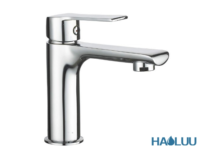 Basin Faucet with Single Handle Brass Mixer and Tap HL97001