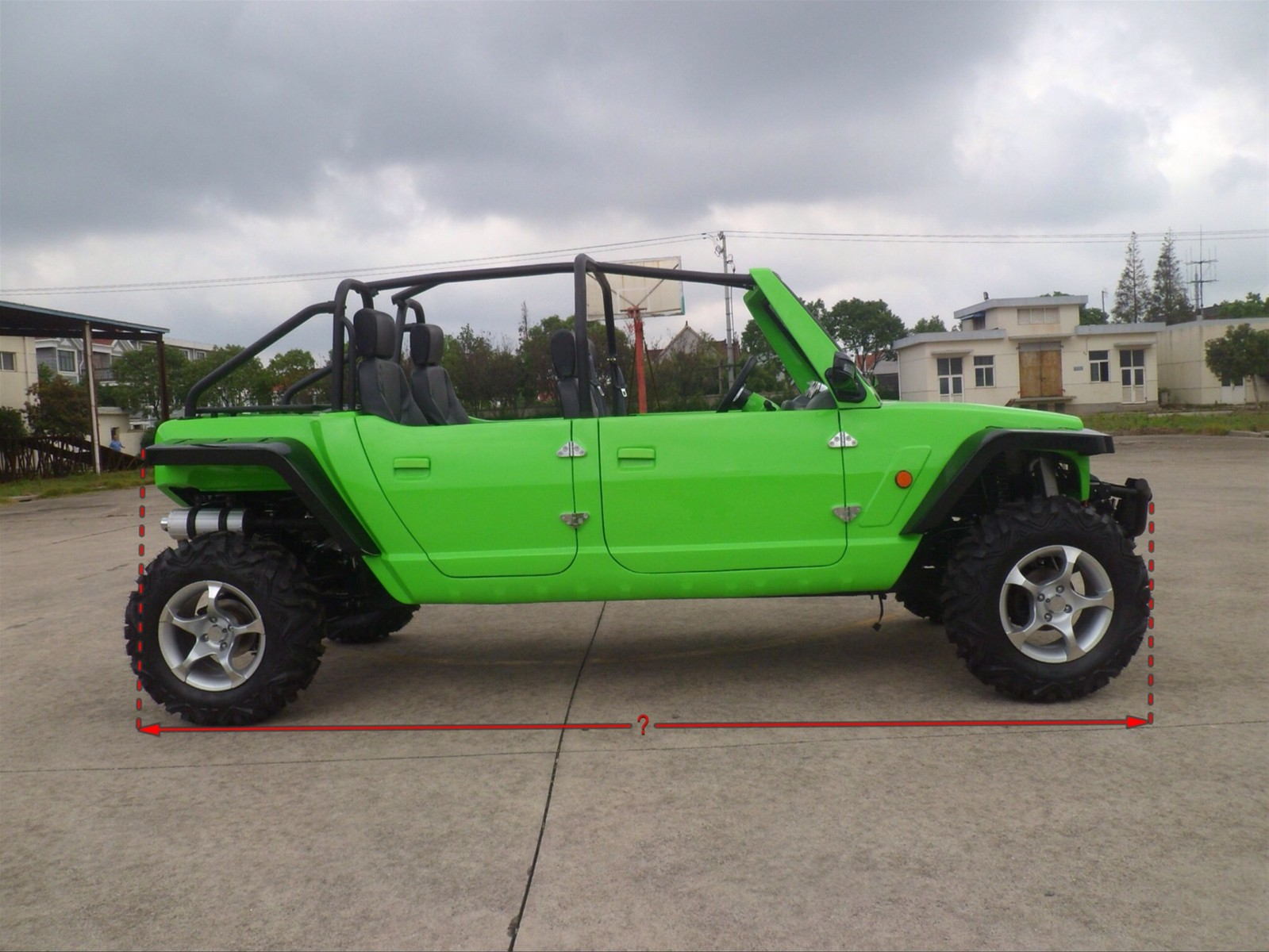Side By Side For Sale >> 1100cc 4 Seats Jeep Side By Side Utv Dune Buggy For Sale