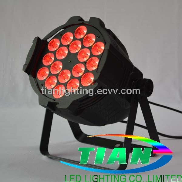 3in1 LED PAR light 18*10W RGB (PAR-T1803)