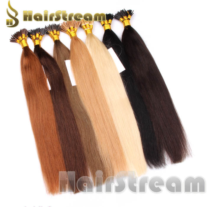 Iu Tip Hair Keratin Nail Hair Extensions 100 Human Hair Wholesale