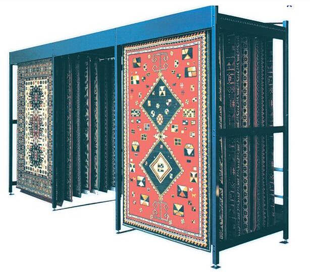 Showroom Material Carpet Display Rack Display Stand