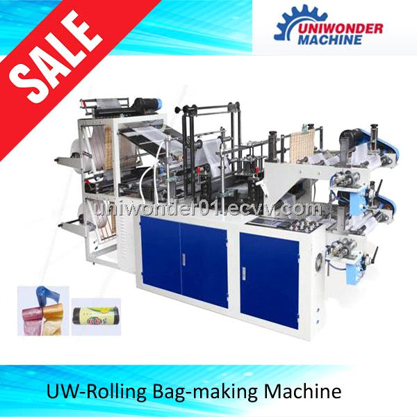 eries Microcomputer Control High Speed Vest Bag Making Machine