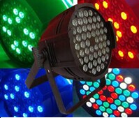 Tricolor led par light 36x3w