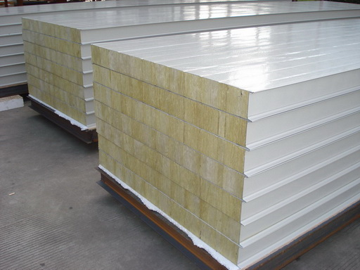 Rock Wool Sandwich Panel Rockwool Wall Panel From China