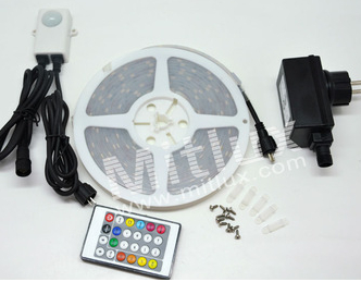 Waterproof LED Digital Stip SMD5050 12V 3A Power Supply 24Key IR Remote Controller
