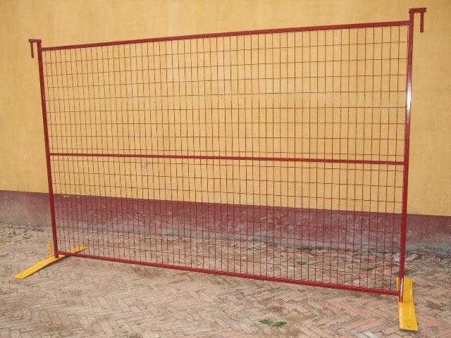 Factory Supply Galvanized Canada Temporary Fence