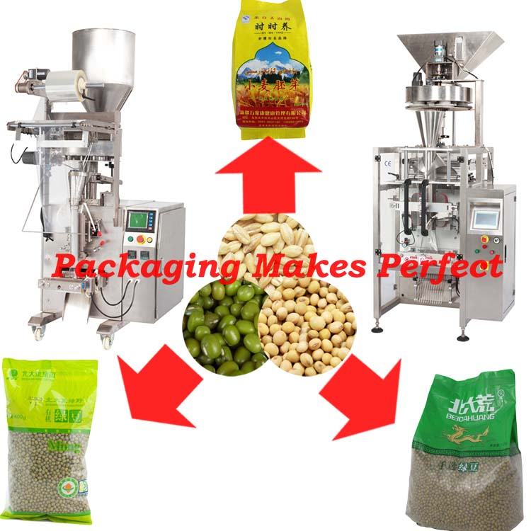 Garden bean/green soy packaging machine wrapping/packing machine automatic packer machinery