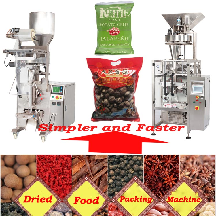 Dry food wrapping machine dried food packaging machinery packing machine AUTOMATIC