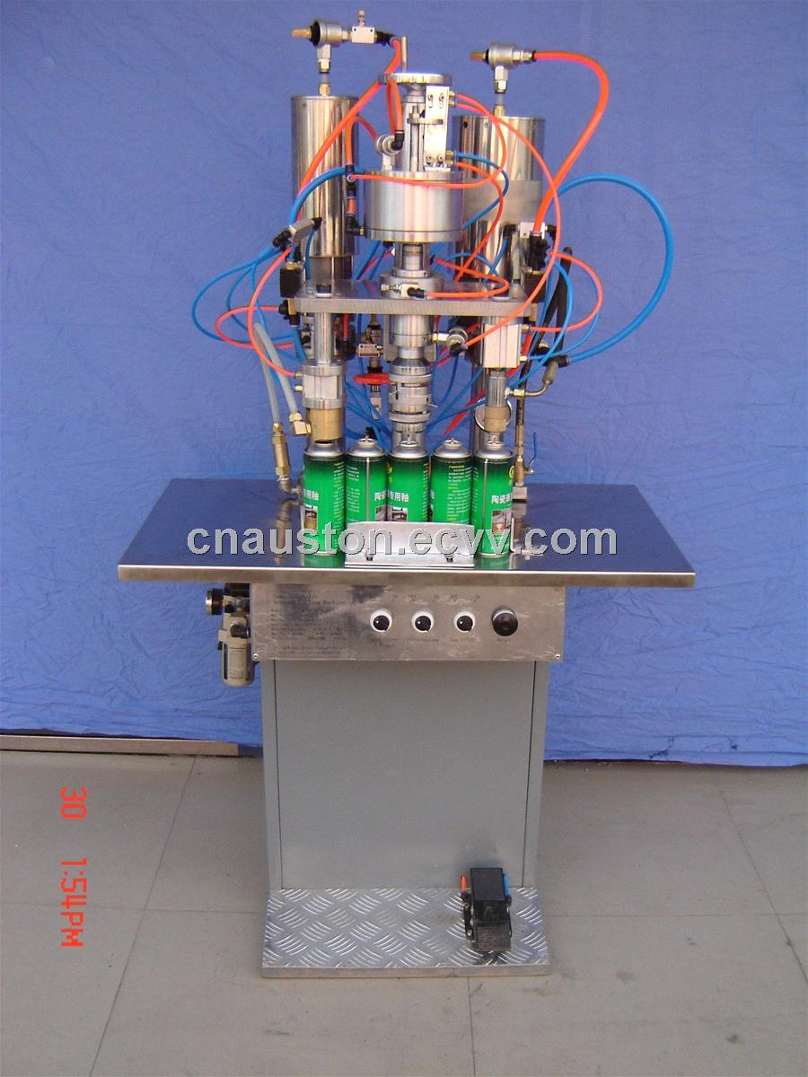 Model QG-ZB-3 aerosol filling machine