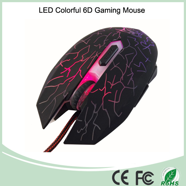 High Quality Colorfuly Optical 6D Gaming Mouse With Competitive Price