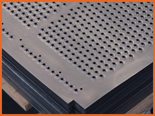 DRILLED AND MILLED SCREENS