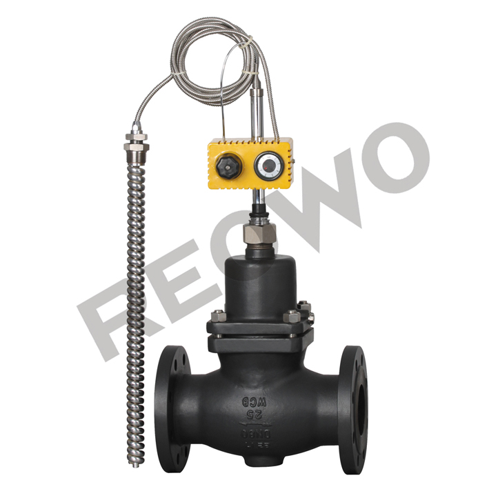 The 30T01Y  30T01R self-operated temperature (heating type) control valve