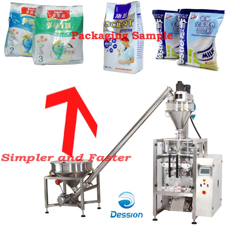 Packaging/wrapping machine for baby food/nursling food/infant food automatic packing in bags packer