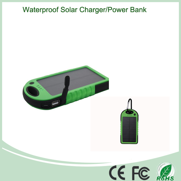 Dual USB Ports for Solar Power Mobile Charger
